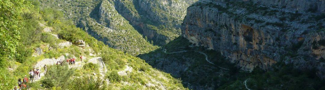 Barranc de l'Infern (Vall de Laguar)