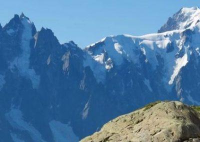 JULIOL  Tour del Mont Blanc