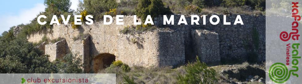 Caves de la Mariola